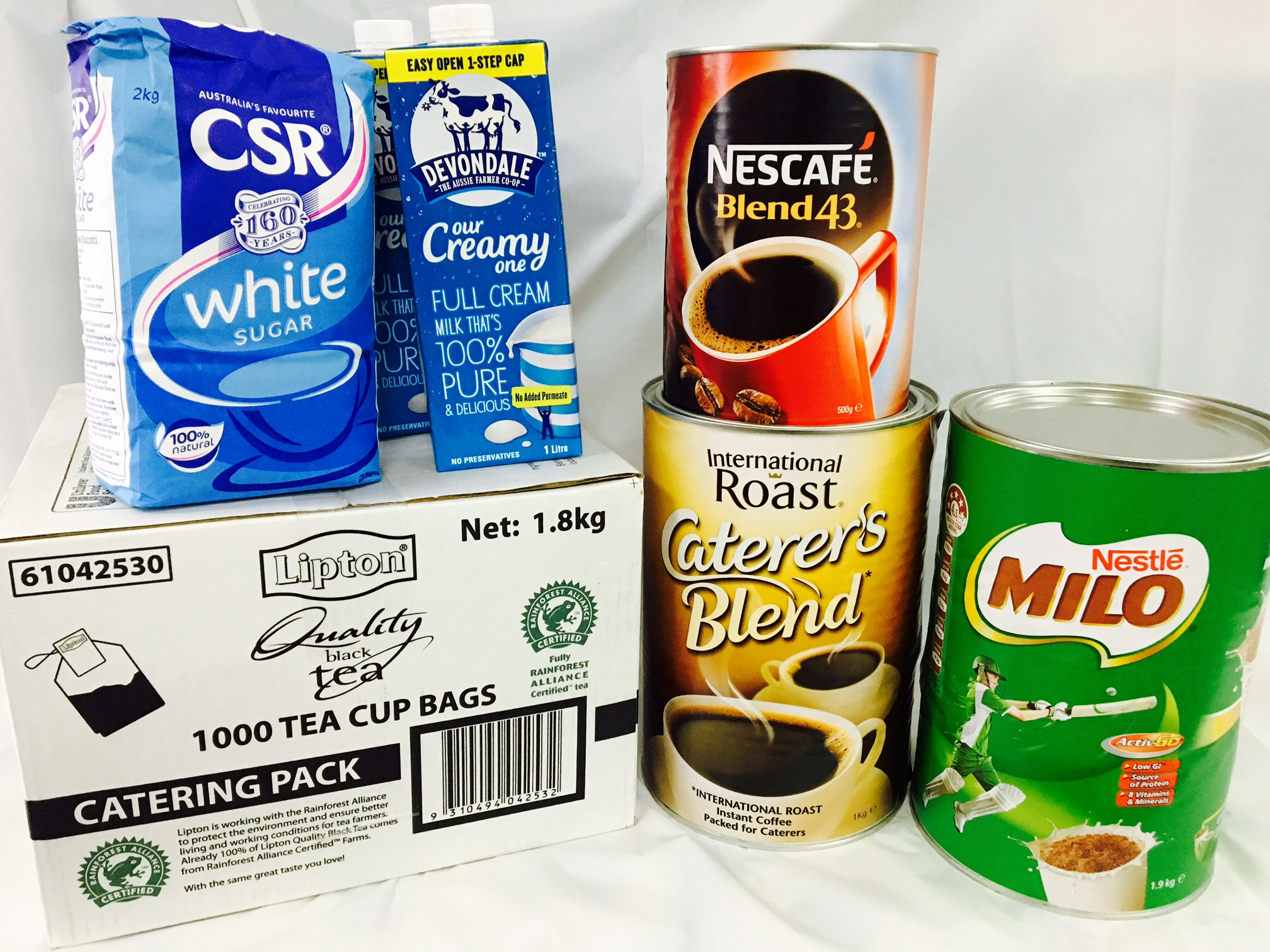 Everyday Supplies | Coffee, Tea, Milk & Sugar